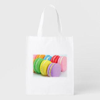 マカロンの再使用可能な買い物袋 エコバッグ