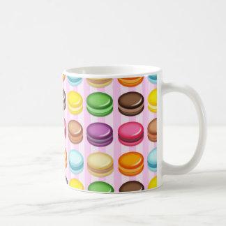 マカロンの列 コーヒーマグカップ