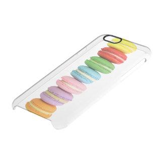 マカロンのiPhone 6の澄んな場合 クリアiPhone 6/6Sケース