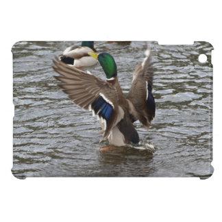 マガモのアヒルの野性生物の写真のiPad Miniケース iPad Mini カバー