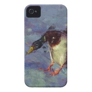 マガモのアヒル水家禽の印象派の絵画 Case-Mate iPhone 4 ケース