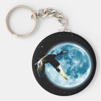マガモの月シリーズを想像して下さい キーホルダー