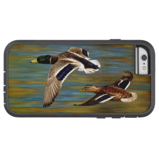 マガモは池上の飛行を引込めます TOUGH XTREME iPhone 6 ケース