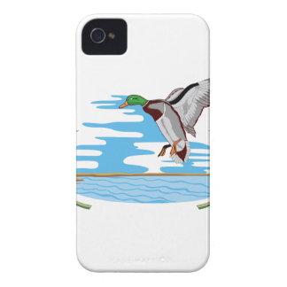 マガモ場面 Case-Mate iPhone 4 ケース