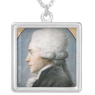 マキシミリアンde Robespierre シルバープレートネックレス