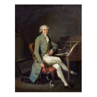 マキシミリアンde Robespierre ポストカード