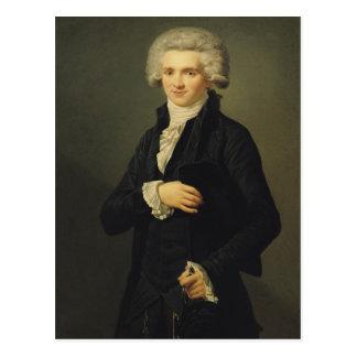 マキシミリアンde Robespierre 1791年 ポストカード