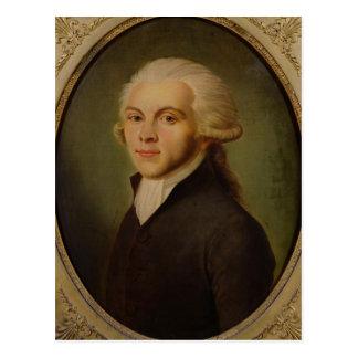 マキシミリアンde Robespierre c.1793 ポストカード