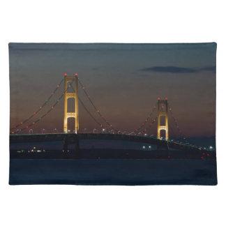 マキナック橋の夜 ランチョンマット