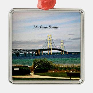 マキナック橋、Mackinacの島 メタルオーナメント