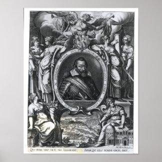 マクシミリアンのポートレートババリアのI ポスター
