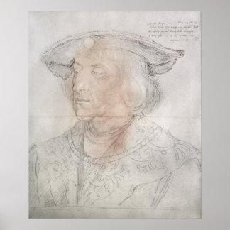 マクシミリアンIのドイツ1518-19年の皇帝 ポスター