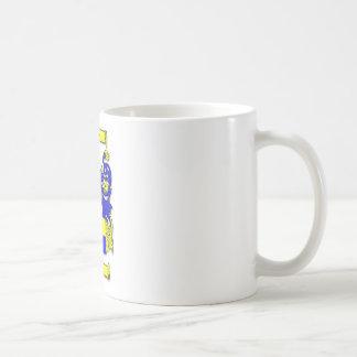 マクベスの紋章付き外衣 コーヒーマグカップ