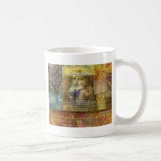 マクベスは、1つの場面4引用文行動します コーヒーマグカップ