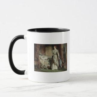 マクベス1850年女性 マグカップ