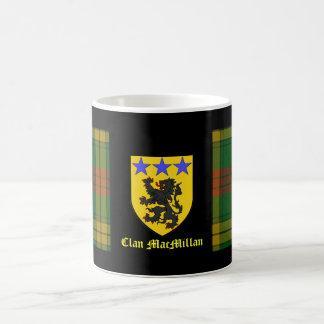 マクミランタータンチェックの紋章付き外衣 コーヒーマグカップ