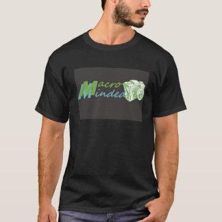 マクロはカメラマンのTシャツを気にしました Tシャツ