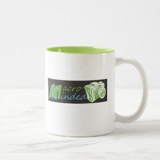マクロはコーヒー・マグを気にしました ツートーンマグカップ