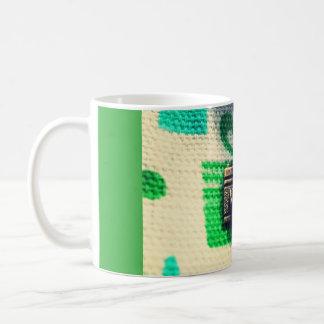 マクロカメラ コーヒーマグカップ
