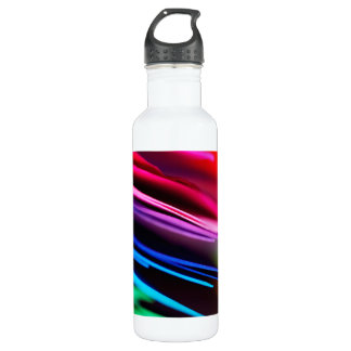 マクロカラフルの紙の写真の虹 ウォーターボトル