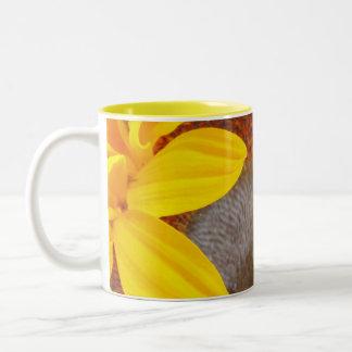 マクロヒマワリ ツートーンマグカップ