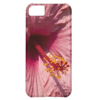 マクロピンクのハイビスカスの花 iPhone5Cケース