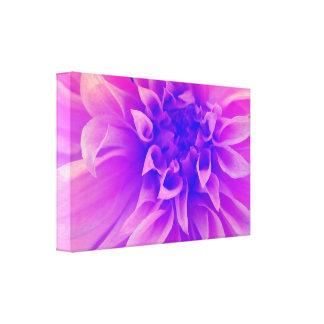 マクロピンクの花 キャンバスプリント