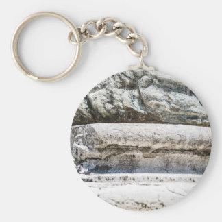 マクロ石 キーホルダー
