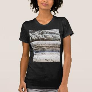 マクロ石 Tシャツ