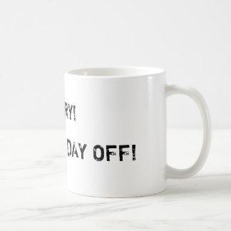 マグお母さんの休日 コーヒーマグカップ