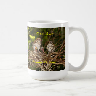 マグかStien、ひな鳥及び親 コーヒーマグカップ