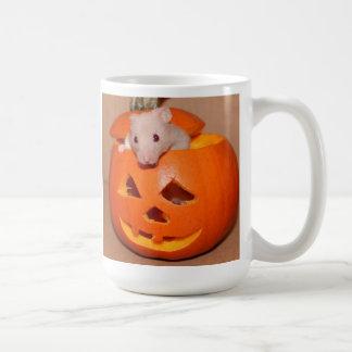 マグでo'lanternジャッキのハムスター コーヒーマグカップ