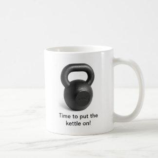 マグにやかんを置く時間 コーヒーマグカップ