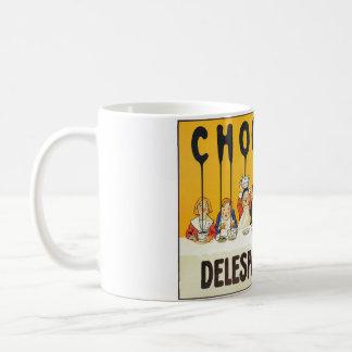 マグのコーヒーカップのフランスのなチョコレートは芸術をからかいます コーヒーマグカップ