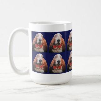 マグのバセットハウンド コーヒーマグカップ