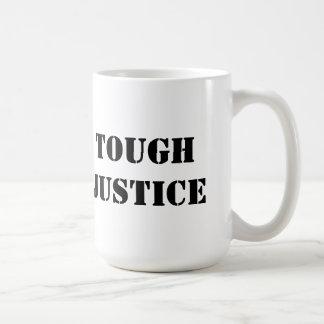 マグの堅い正義 コーヒーマグカップ