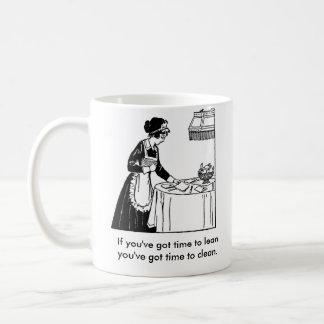 マグの女中 コーヒーマグカップ