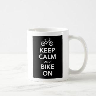 マグの平静そしてバイクを保って下さい コーヒーマグカップ
