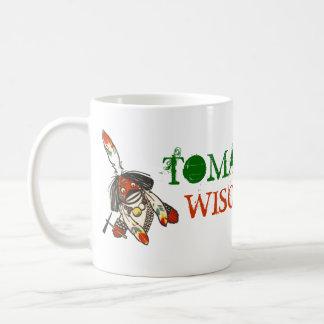 マグの~旅行観光事業の広告宣伝のトマホークのウィスコンシンWIS コーヒーマグカップ