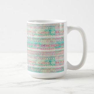 マグまたはネイティブアメリカンパターン コーヒーマグカップ