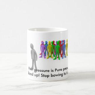 マグをいじめることを止めて下さい コーヒーマグカップ
