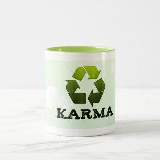 マグをリサイクルするカルマ ツートーンマグカップ