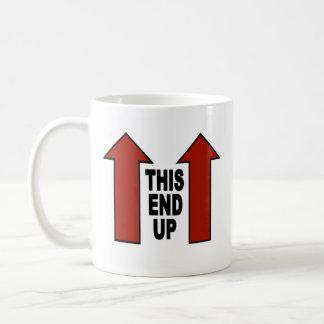 マグを一方の端 コーヒーマグカップ