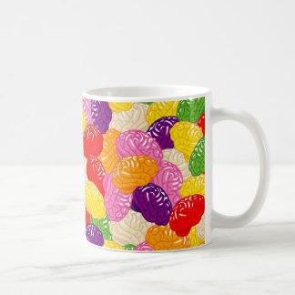 マグを意見を出し合うゼリーの頭脳 コーヒーマグカップ