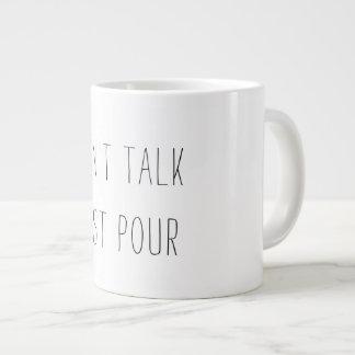 マグを話さないで下さい ジャンボコーヒーマグカップ