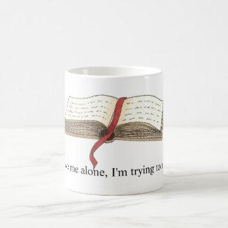 マグを「読むことを」試みます コーヒーマグカップ