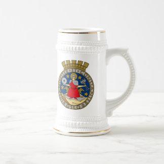 マグオスロの紋章付き外衣 ビールジョッキ