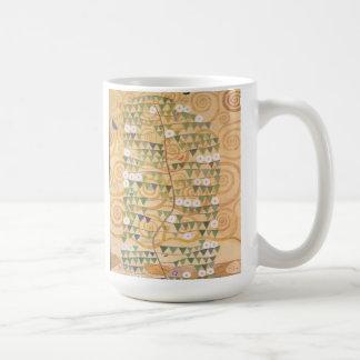 マググスタフのクリムトのフリーズの生命の樹 コーヒーマグカップ