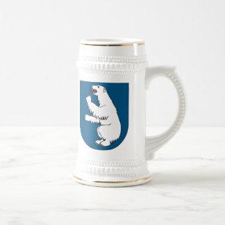 マググリーンランドの紋章付き外衣 ビールジョッキ