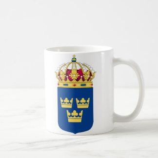 マグスウェーデンの紋章付き外衣 コーヒーマグカップ